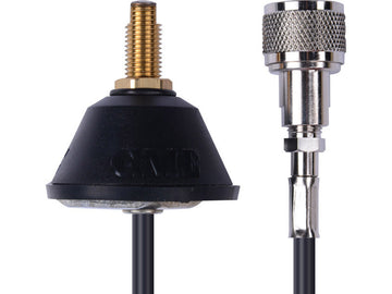 GME Universal Antenna Base with Low Loss Foam Coax & PL259