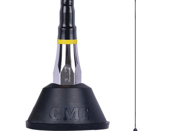 GME 1.5m AM/FM F/Glass Aerial with Base Lead & Plug