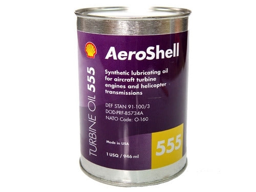 AeroShell Turbine Oil 555-Aeroshell-Downunder Pilot Shop