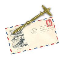 Aeroplane Letter Opener-Born Aviation-Downunder Pilot Shop