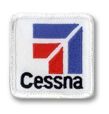 Cessna Iron-On Badge