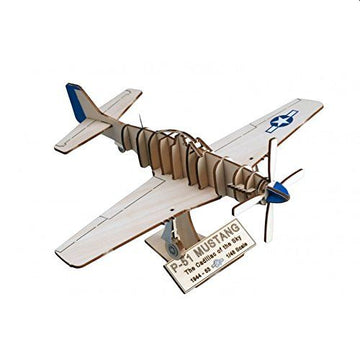 Art and Wood P51D Mustang Model Kit