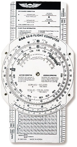 ASA Flight Computer E6BP-ASA-Downunder Pilot Shop