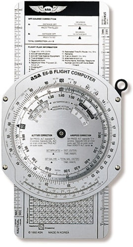 ASA E6B Metal Flight Computer