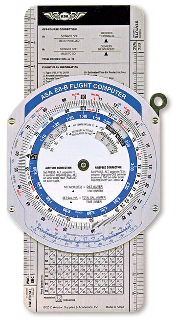 ASA Colour E6B Flight Computer
