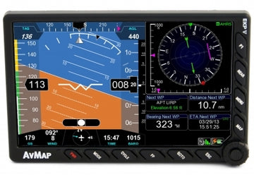 AvMap EKP V - Multi-functional Display with GPS