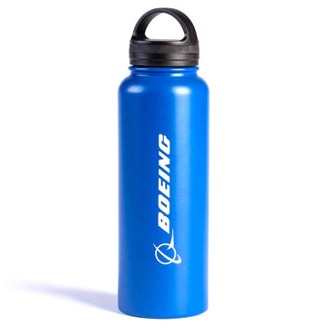 Boeing Logo Water Bottle - Blue