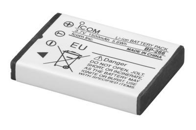 ICOM Li-Ion Battery 3.7V-ICOM-Downunder Pilot Shop