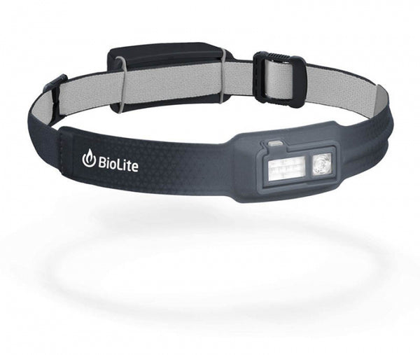BioLite Headlamp Recharge 330L Grey-BioLite-Downunder Pilot Shop