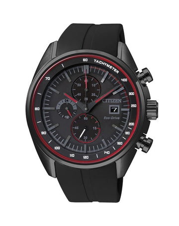 Citizen Black Stainless Steel Eco-Drive CA0595-03F