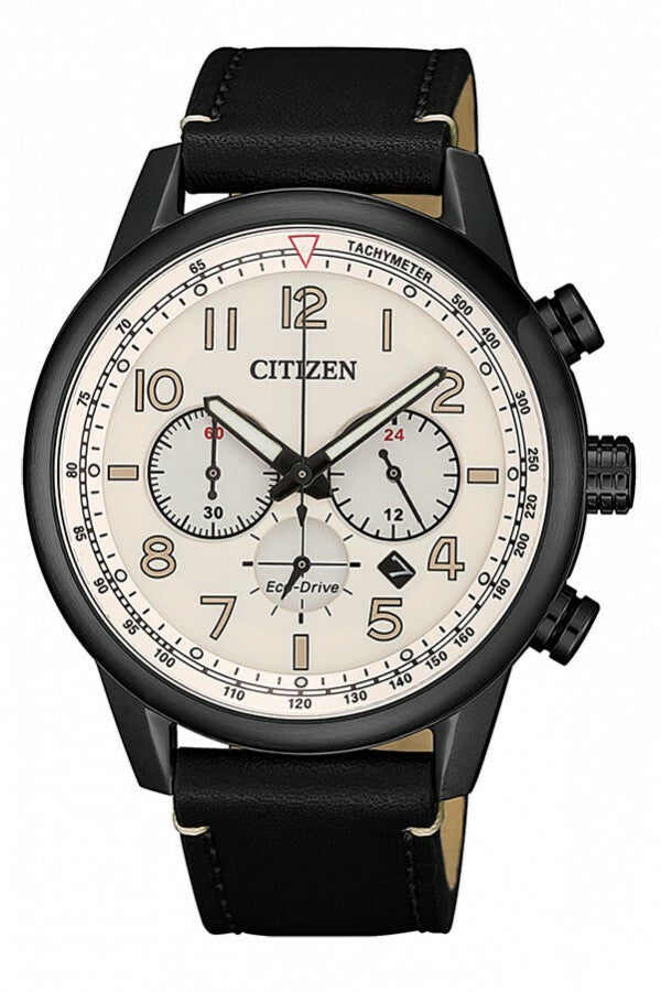 Citizen Vintage Aviator Style Eco-Drive CA4425-10X-Citizen-Downunder Pilot Shop