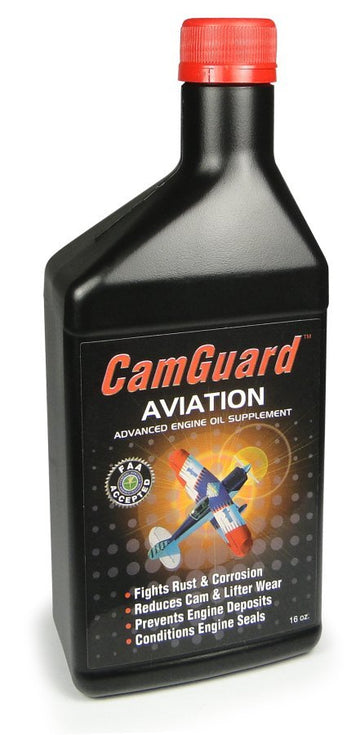 CamGuard Aviation Oil Additive - 16oz