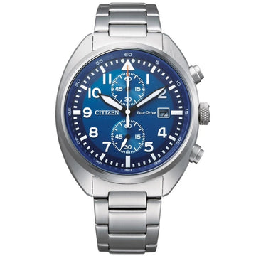 Citizen Eco-Drive Chronograph Men's Watch, Blue Face - CA7040-85L