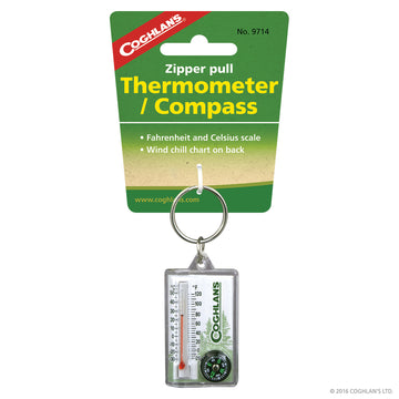 Coghlans Zipper Thermometer/Compass