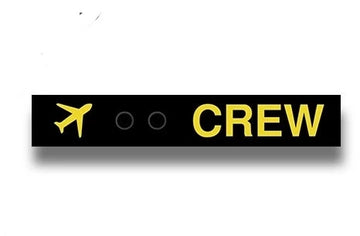 Crew Luggage Snap Tag