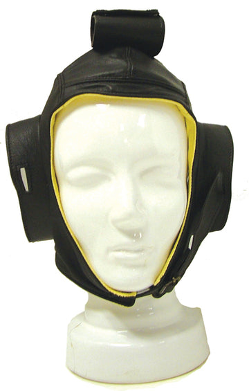 Leather Flying Helmet with Chamois
