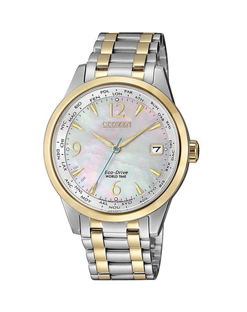 Citizen Ladies World Time Eco-Drive - FC8008-88D