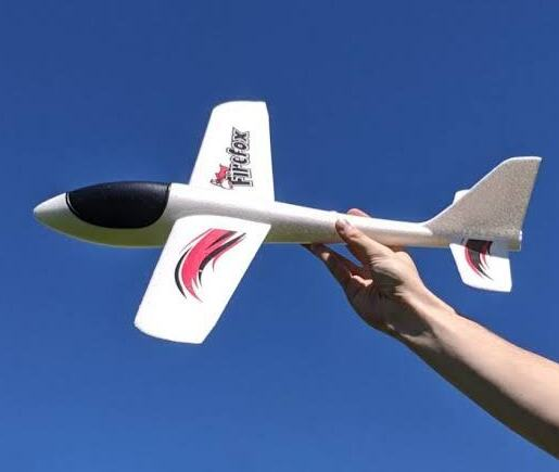Firefox Hand Launched Foam Glider