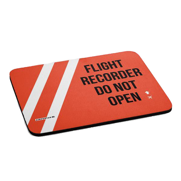 Mousepad - Flight Recorder-Airportag-Downunder Pilot Shop
