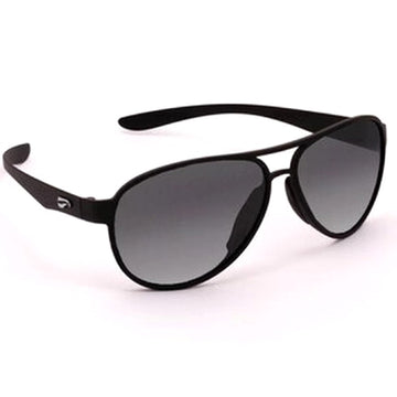 Flying Eyes Kestrel Aviator - Matte Black - Gradient Grey Lens