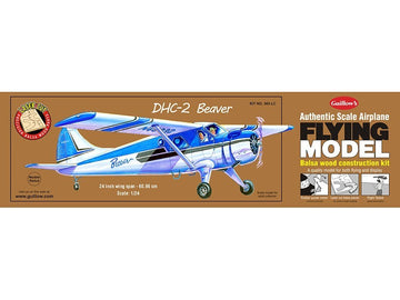 Guillows DHC-2 Beaver Rubber-Powered Balsa Model Kit