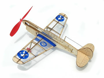 Guillows miniModels U.S Warhawk Rubber-Powered Balsa Model Kit