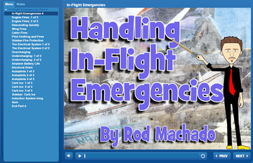 Rod Machado's Handling In-flight Emergencies - FAA eLearning Course