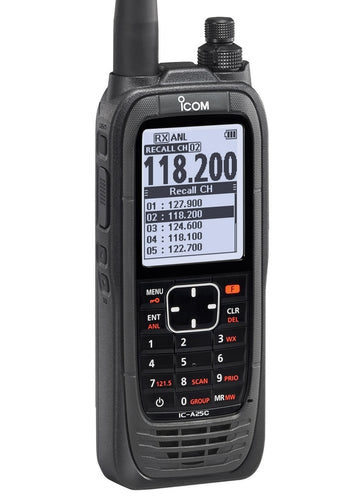 ICOM IC-A25CE Air Band Radio