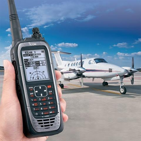 Icom IC-A25NE Air Band Radio With Built-In GPS and Bluetooth-ICOM-Downunder Pilot Shop