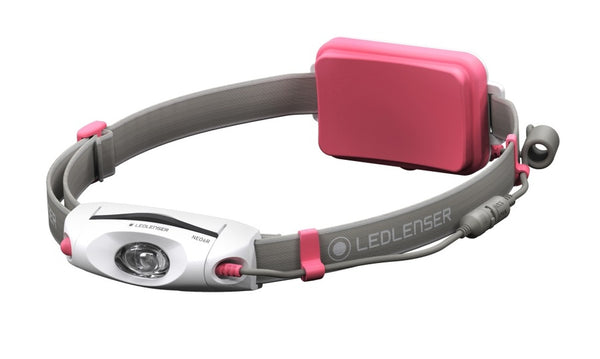LED Lenser NEO6R Rechargeable LED Head Torch - Pink-LED Lenser-Downunder Pilot Shop