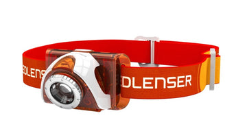 LED Lenser SEO3 Head Torch - Orange