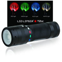 LED Lenser T2QC Quattro Colour LED Torch