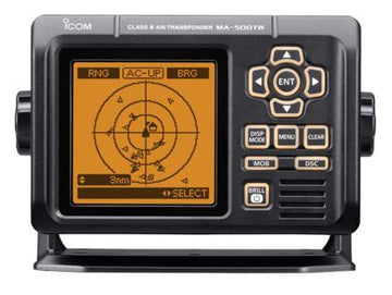 ICOM Class B AIS Transponder with Integrated LCD Display