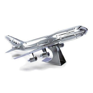 Metal Earth 747 Jet