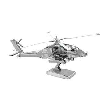 Metal Earth AH-64 Apache Helicopter