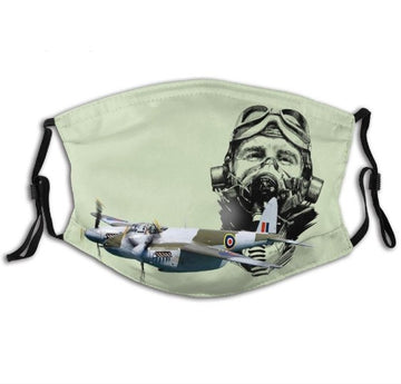 Mosquito Pilot Face Mask With Replacable PM2.5 Filter