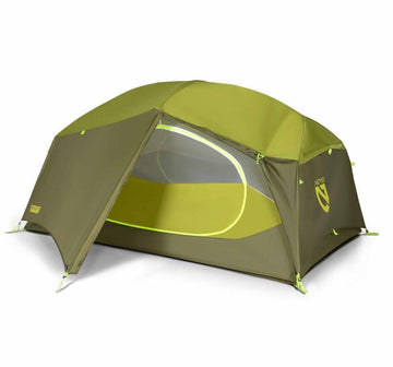 NEMO Aurora Tent and Footprint - 2 Person (Green)