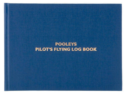 Pooleys Pilot Flying Log Book - NLB010-Pooleys-Downunder Pilot Shop
