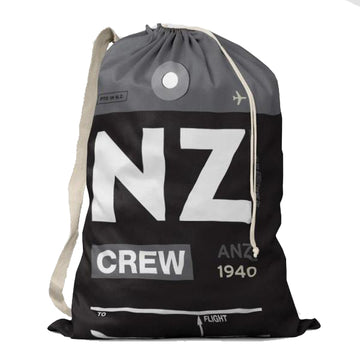 Air New Zealand Crew Drawstring Bag