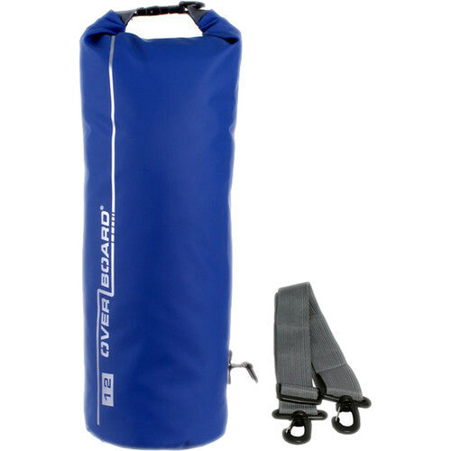 Overboard Waterproof Dry Tube Bag, 12 Liter Blue-Overboard-Downunder Pilot Shop