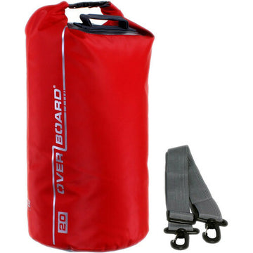 Overboard Waterproof Dry Tube Bag (20L, Red)