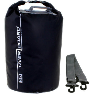 Overboard Waterproof Dry Tube Bag - 30 Liter (Black)