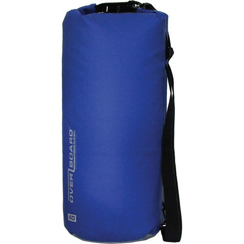 Overboard Waterproof Dry Tube Bag (Blue, 40L)-Overboard-Downunder Pilot Shop