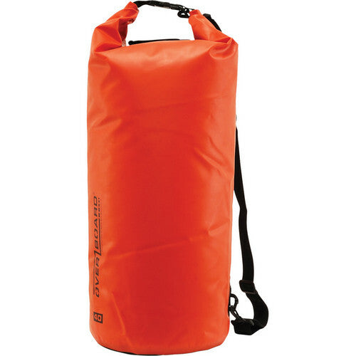 Overboard Waterproof Dry Tube Bag (Red, 40L)-Overboard-Downunder Pilot Shop