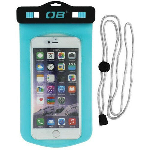 Overboard Waterproof Large Phone Case (Aqua)-Overboard-Downunder Pilot Shop