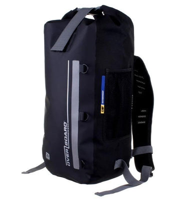 Overboard Classic Waterproof Backpack - Black 20 Litres