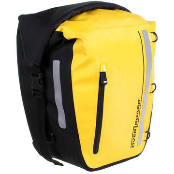 Overboard Classic Waterproof Bike Pannier 17L (Yellow)