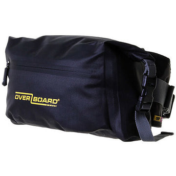 Overboard Pro-Light Waterproof Waist Pack (6-Liter, Black)