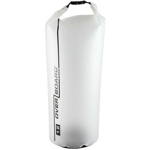 Overboard Pro-Light Dry Tube Bag 12L (Clear)-Overboard-Downunder Pilot Shop