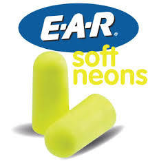 E-A-R Soft Earplugs - Yellow-Neon